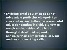 Explore multiple EE outcomes    youth development  critical thinking   school achievement  in addition to environmental knowledge and behaviors  WHRO