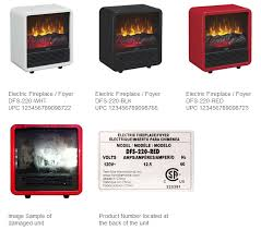 Space Heater Recall 2014: Full List Of Duraflame Electric Heaters ...