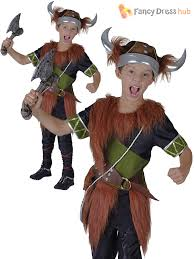 kids viking boy costume helmet warrior childrens book