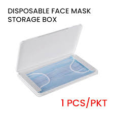 Disposable <b>Face Mask Storage Box</b> (1pc/pack) – ProShield Water ...
