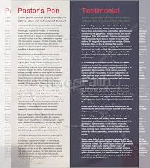 Newsletter Format Examples Free Womens Ministry Newsletter Template Free Newsletter