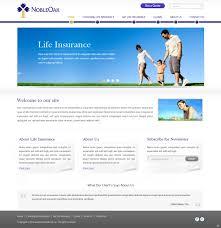 modern colorful life insurance web design for a company in australia design 1025869