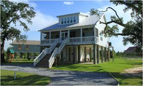 View Oriented House Plans With Porches  Tide Collection Elevated Home Plans