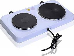 pyramid double burner hotplate portable stove heater countertop cooking electric cooktop cooker
