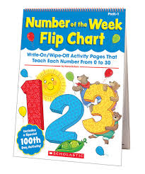 office depot flip chart scholastic teaching resources number of the week flip chart