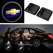 Chevy Shadow Lights 2pcs Wireless Car Door Led Projector Light Courtesy Welcome Logo Light Shadow Ghost Laser Lamp For Chevy Chevrolet