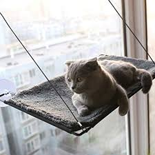 BobbyPet Cat Window Perch Warm Cotton Fabric ... - Amazon.com