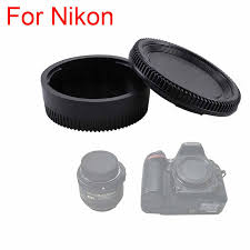 2 in 1 High Quality Rear Lens Cap+Camera Body <b>Cover</b> Cap for ...