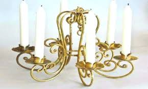 good flameless candle chandelier for candle