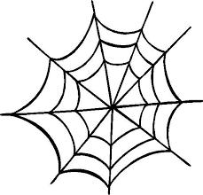 Spider Web Outline Clipart Best Holidays Spider Clip Art