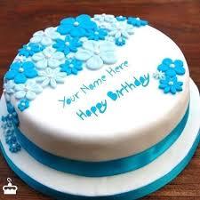 Birthday Cake For Momina Cakedesignsbyjessicacom