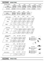 21 Uncommon Protec Helmet Sizes Chart