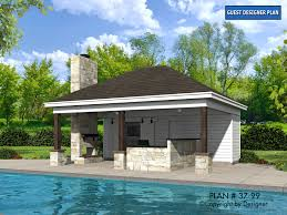 pool house plans. PLAN NUMBER: 37-99 Pool House Plans