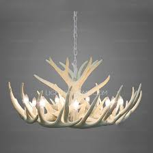 diameter white antler chandelier modern 9 light twig type 32 6