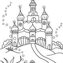 Small Picture MERMAID coloring pages 43 Fantasy MERMAID world coloring book