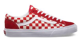 vans red checkerboard old skool. the vans old skool \u201ccheckerboard\u201d are available now for $59.99 with free shipping red checkerboard