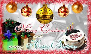 Send Ecards Birthday Merry Christmas And Happy Birthday
