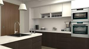 Weiße Wand Dekor für Modulare Küchen Insel – Interieur und Möbel Ideen