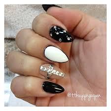 Black Smokey Vs Glitter Ombre With Handpainted Pattern Black