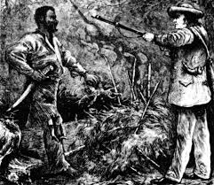 nat turner rebellion how he explained the slave revolt time illustration 19th century of the discovery of nat turner following the failure of