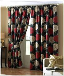 Red Swag Kitchen Curtains Black White And Red Swag Kitchen Curtains Black White And Gray