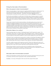 9 Graduate School Letter Of Recommendation Template Pear