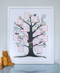 Family Tree Design In Illustration Board Family Tree Create Your Family Tree Gift Idea For The