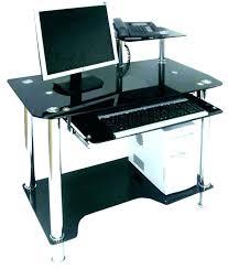 glass computer desk small modern computer desk modern small computer desk all glass computer desk long