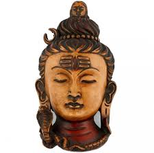 collectible india shiva wall hanging spiritual vastu mount sculpture showpiece 16 25 cm