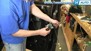 how to install replace door lock actuator ford f 150 04 08 1aauto 2006 F150 Door Wire Harness how to install replace door lock actuator ford f 150 04 08 1aauto com youtube 2007 F150