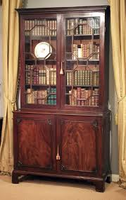 Antique library bookcase