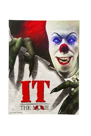 it the movie pennywise it the movie pennywise light up poster m37255