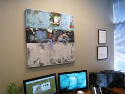 artist office. tycoon office art abstract corporate collection artist