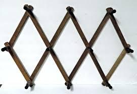 accordion hat rack peg expandable folding wood coat mug collapsible hooks unbranded target