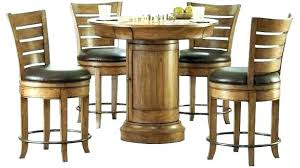glass pub table glass pub table set trends krib round glass adjule height pub table