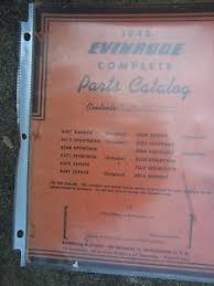 Details About 1946 Evinrude Elto Outboard Motor Spark Plug Shear Pin Lubrication Chart L