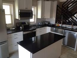 good black granite countertops