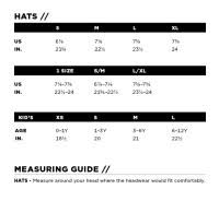 Outdoor Research Mens Size Chart Outdoor Research Size