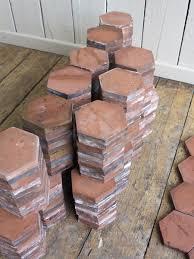 terracotta hexagon quarry floor tiles at ukaa