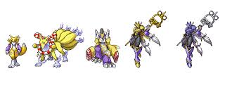 Digimon Evolution Chart Guilmon Renamon Digivolution Clipart Images Gallery For Free