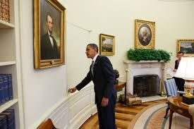oval office paintings. File:President Barack Obama Opens The Door Of Oval Office.jpg Office Paintings L