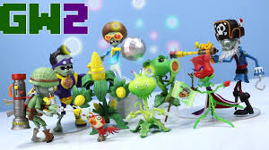 plants vs zombies gw2 diamond select toys collection 2017