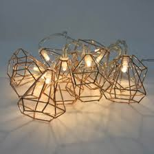 decorative string lighting. Interesting String Copper Cone String Lights In Decorative Lighting R