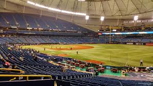 Tropicana Field Section 134 Tampa Bay Rays Rateyourseats Com