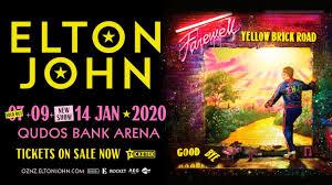 Elton John Qudos Bank Arena