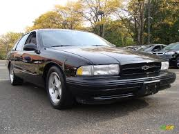 Black 1995 Chevrolet Impala SS Exterior Photo #55627325 | GTCarLot.com