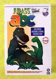 Learn colors, abc and shapes for #kids in a 3d animated video with #bowling ball, toys, #kineticsand and bowling pins. Jurassic Abc Pc Cd Rom Multimedia Dinosaur Coloring Book New Video Game Rare 720286901050 Ebay