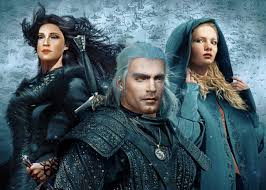 Play as Henry Cavill in The Witcher 3 with Anya Chalotra as Yennifer
