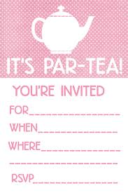 tea party invitations net tea party invites design party invitations