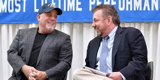billy joel and msg ceo and chairman james dolan photo by michael loccisano getty